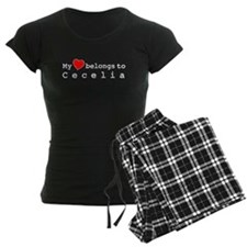 My Heart Belongs To Cecelia Pajamas