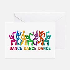 Dance Dance Dance Greeting Cards (Pk of 20)