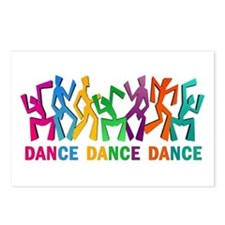 Dance Dance Dance Postcards (Package of 8)