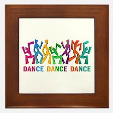 Dance Dance Dance Framed Tile