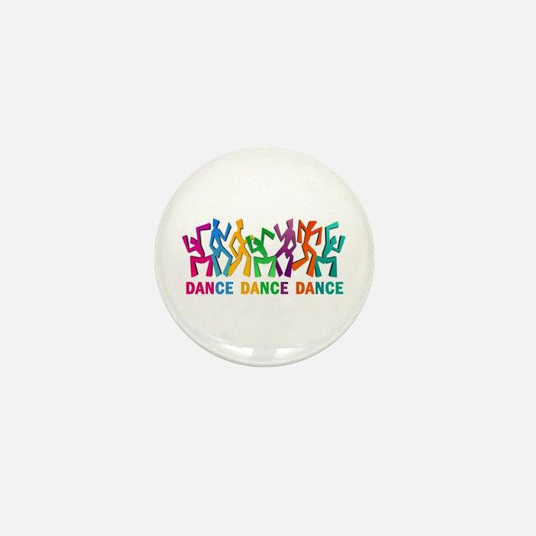 Dance Dance Dance Mini Button