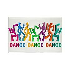 Dance Dance Dance Rectangle Magnet (100 pack)