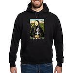 Mona Lisa - Bernese Puppy Hoodie (dark)