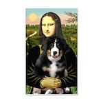 Mona Lisa - Bernese Puppy 20x12 Wall Decal