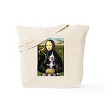 Mona Lisa - Bernese Puppy Tote Bag