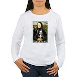 Mona Lisa - Bernese Puppy Women's Long Sleeve T-Sh