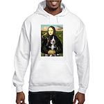Mona Lisa - Bernese Puppy Hooded Sweatshirt