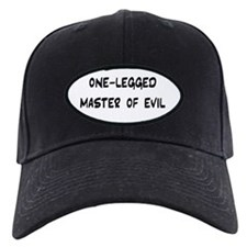 """One-Legged Master Of Evil"" Cap"