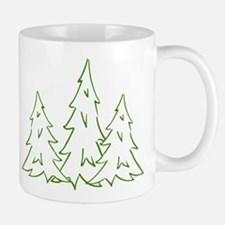 Three Pine Trees Mug