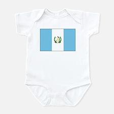 Guatemala Flag Picture Infant Bodysuit