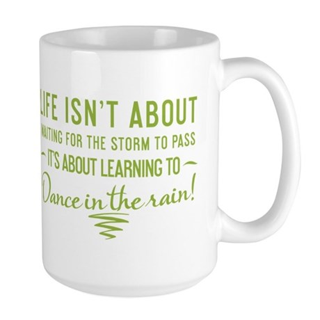 Life Isn't About - Large Mug