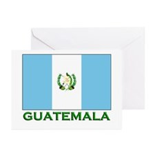 Guatemala Flag Stuff Greeting Cards (Pk of 10)
