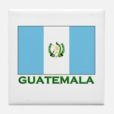Guatemala Flag Stuff Tile Coaster