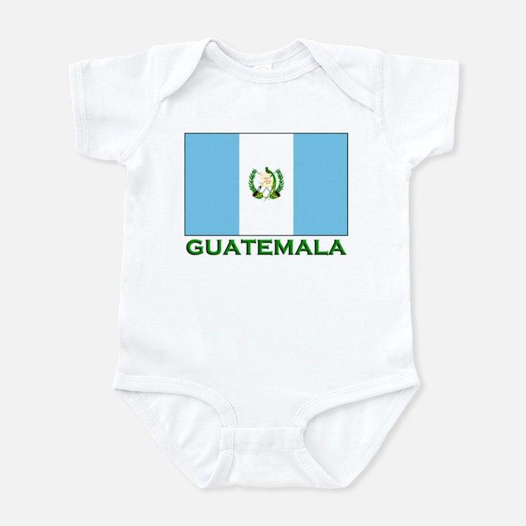 Guatemala Flag Stuff Infant Bodysuit