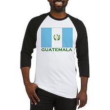 Guatemala Flag Stuff Baseball Jersey
