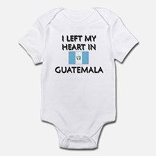 I Left My Heart In Guatemala Infant Bodysuit