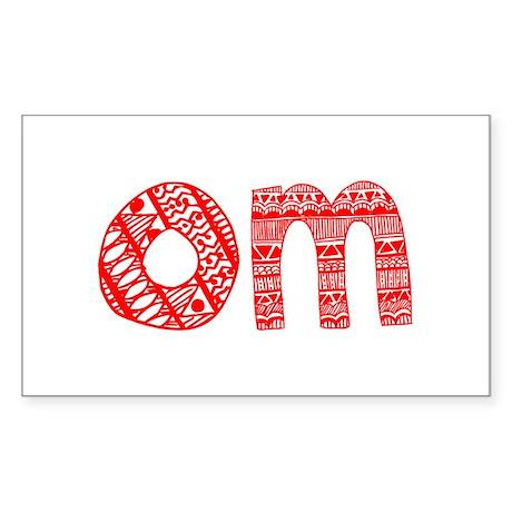 OM Sticker (Rectangle)