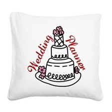 Wedding Planner Square Canvas Pillow