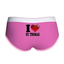 I Heart St. Thomas Women's Boy Brief