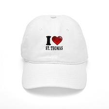 I Heart St. Thomas Baseball Cap