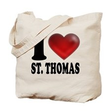 I Heart St. Thomas Tote Bag