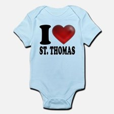 I Heart St. Thomas Infant Bodysuit