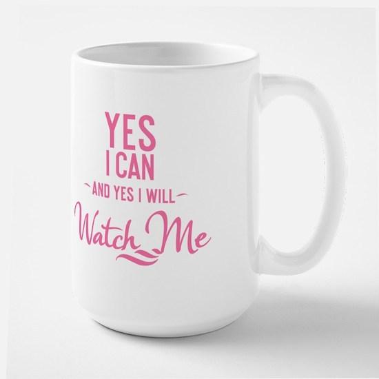 Yes I Can - Large Mug