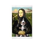 Mona Lisa - Bernese Puppy 3'x5' Area Rug