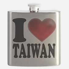 I Heart Taiwan Flask