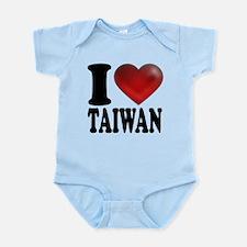 I Heart Taiwan Infant Bodysuit