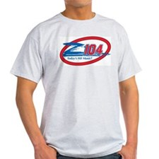 Z104-FM (WZEE) Ash Grey T-Shirt