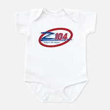 Z104-FM (WZEE) Infant Bodysuit
