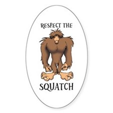 RESPECT THE SQUATCH Decal
