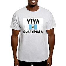 Viva Guatemala Ash Grey T-Shirt