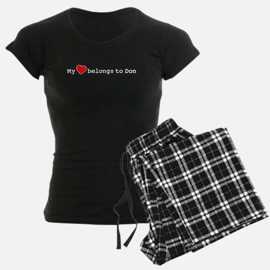My Heart Belongs To Don Pajamas