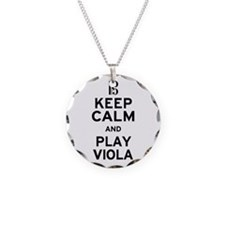 Keep Calm Viola Necklace