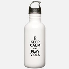 Keep Calm Viola Water Bottle
