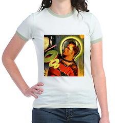 Captain Future Jr. Ringer T-Shirt