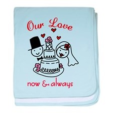 Our Love baby blanket