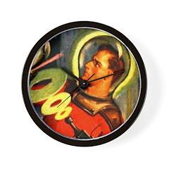 Captain Future Wall Clock