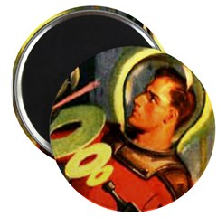 "Captain Future 2.25"" Magnet (100 pack)"