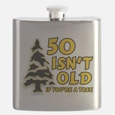 50 Isnt old Birthday Flask