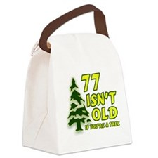 Cute Over hill Canvas Lunch Bag