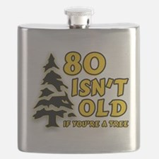 80 Isnt old Birthday Flask