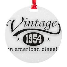 Vintage 1954 Ornament