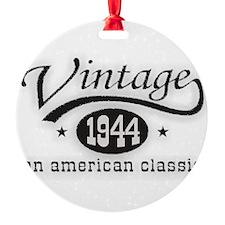 Vintage 1944 Ornament