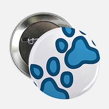 """Dog Paw Prints 2.25"""" Button"""