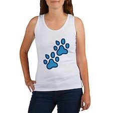 Dog Paw Prints Women's Tank Top