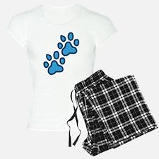 Dog Paw Prints Pajamas