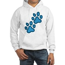 Dog Paw Prints Jumper Hoody